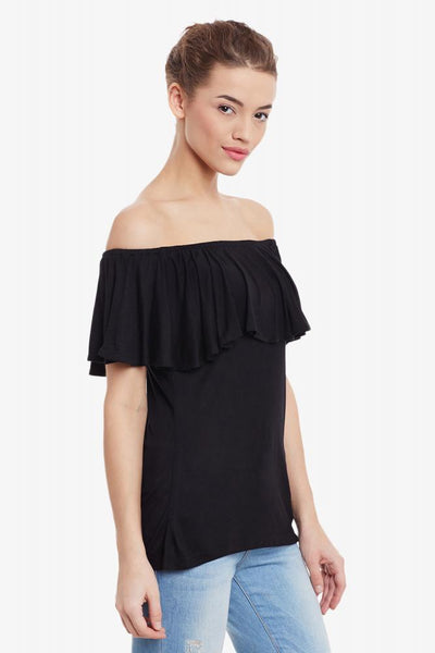 Can't Compete Off Shoulder Top