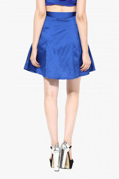 The Bow Show Skater Skirt