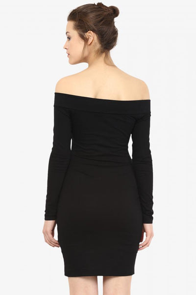 Over My Shoulder Bodycon Dress