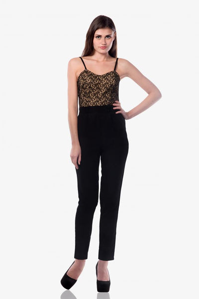 Drama Mama Bustier Jumpsuit