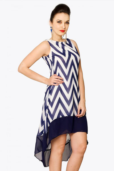 Night And Sway High-Low Dress