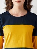 Tangled Up Color-Block T-Shirt