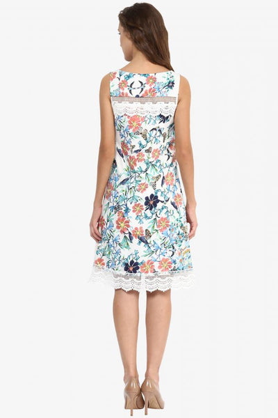 Enchanted In Love Floral Dress