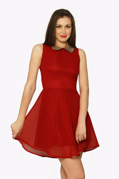 The Look Of Love Skater Dress