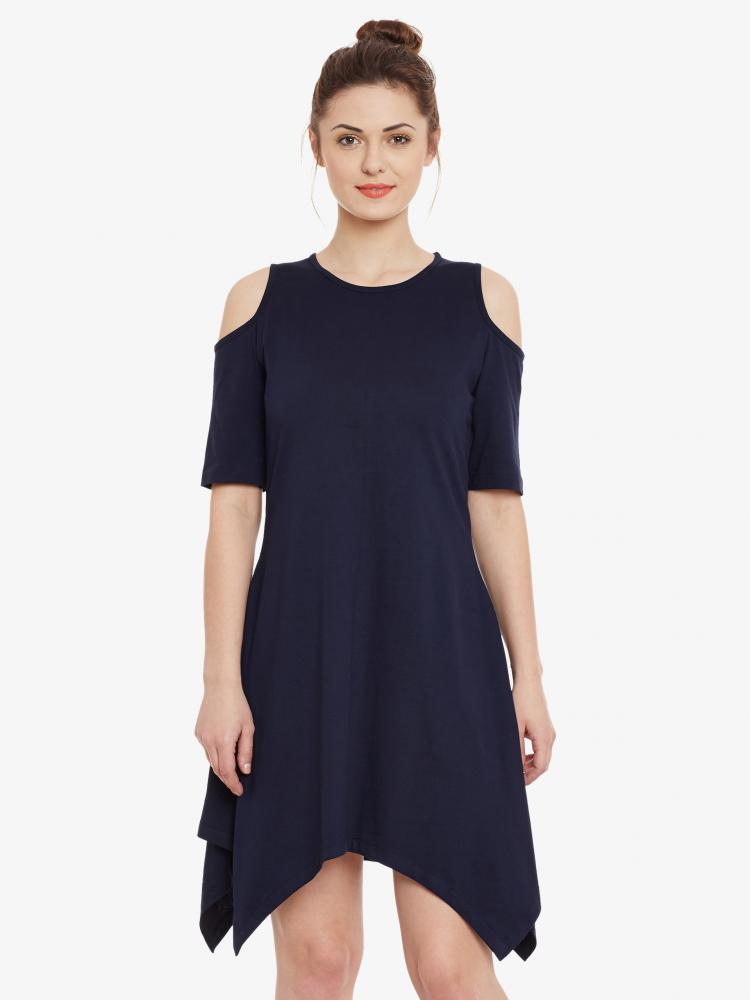 d2072deb0a Keep It Open Cold Shoulder Dress – Miss Chase