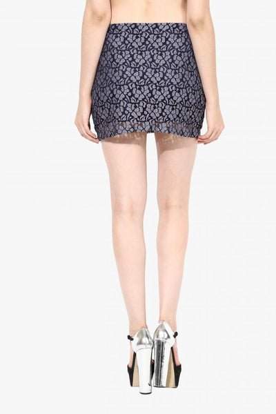 A Little Lace Conversation Skirt