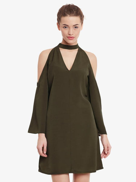 Definite Dedication Choker Dress