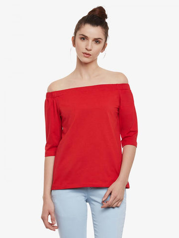 Sleek Chic Bardot Top