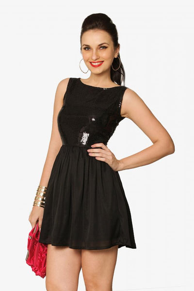 We Love Sparkle Skater Dress