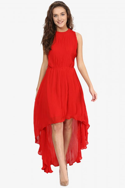 Talk Of The Town High Low Dress