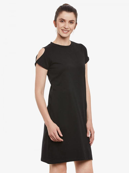 One Up Twisted Dress