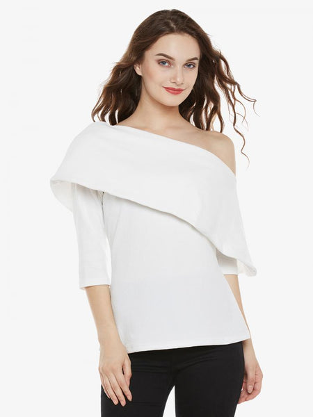 Bold And Beautiful One Shoulder Top