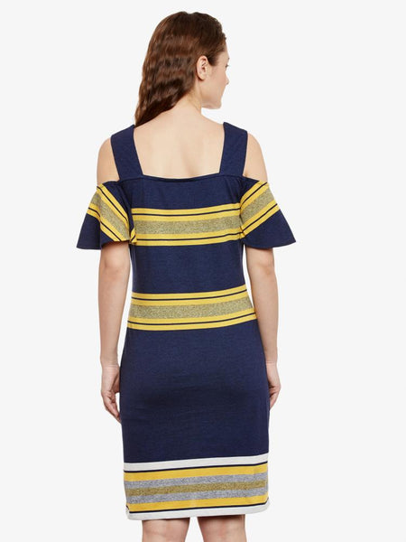 Peace Of Mind Striped Shift Dress
