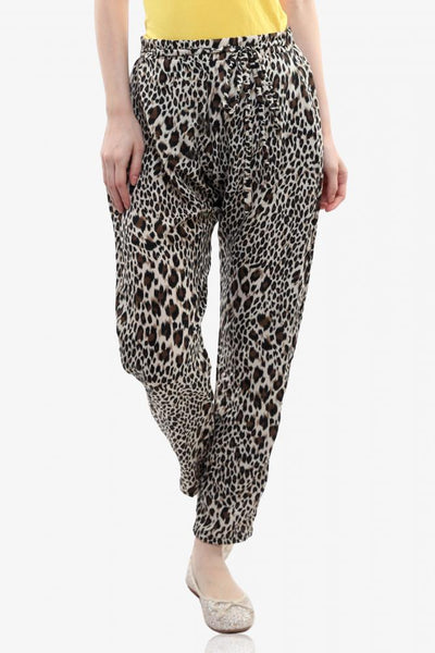 Spot On Leopard Print Pants