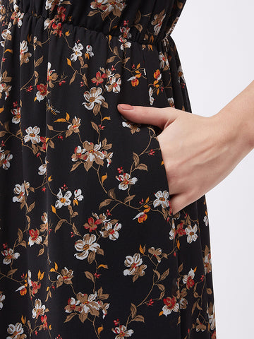 Hand In Hand Floral Printed Maxi Dress