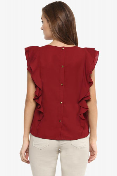 Queens Kingdom Ruffle Sleeve Top