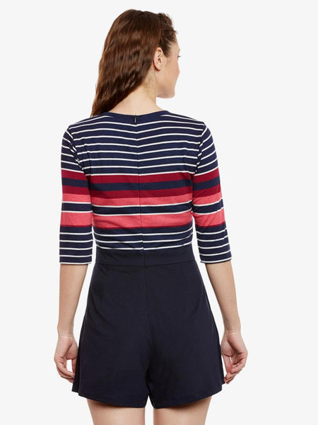 Forever and After Stripes Playsuit