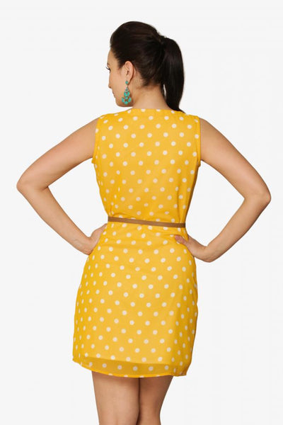 Spot On Belt Dress