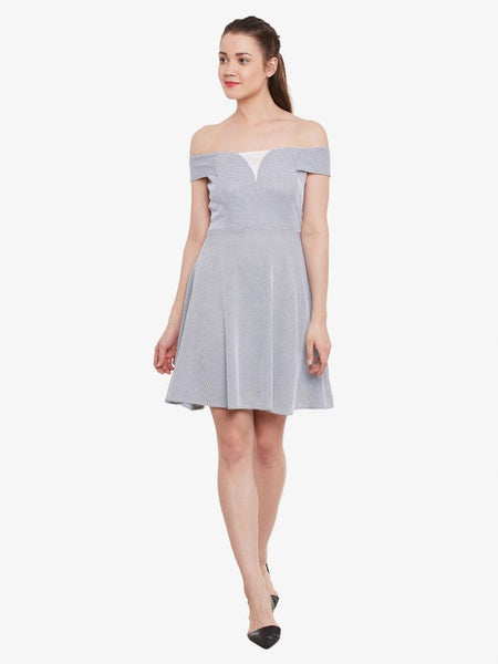 On The Rise Bardot Dress
