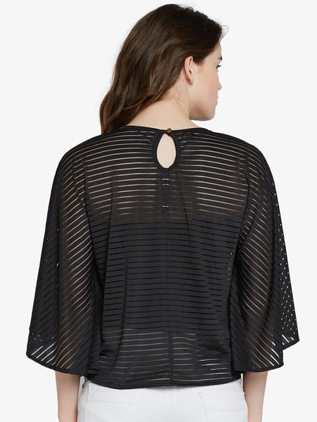 Sheer Courage Kaftan Top
