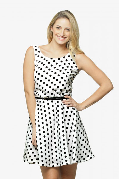 Connect The Dots Skater Dress