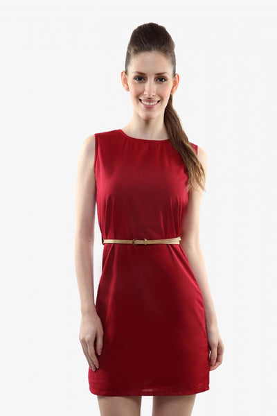 Run the show belted dress