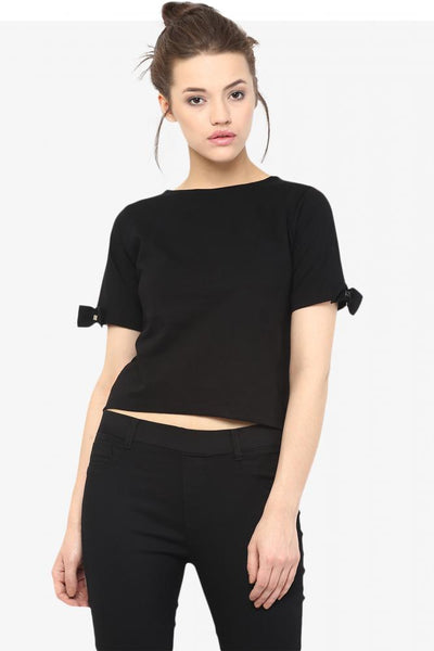 Cut It Out Crop Top