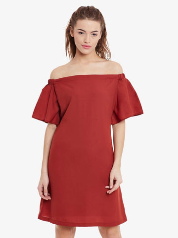 A Piece Of Me Bardot Shift Dress