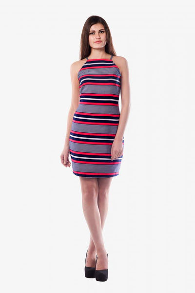 High Priority High Neck Dress