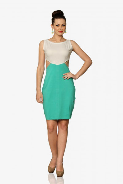 Lovestruck Colorblock Bodycon Dress
