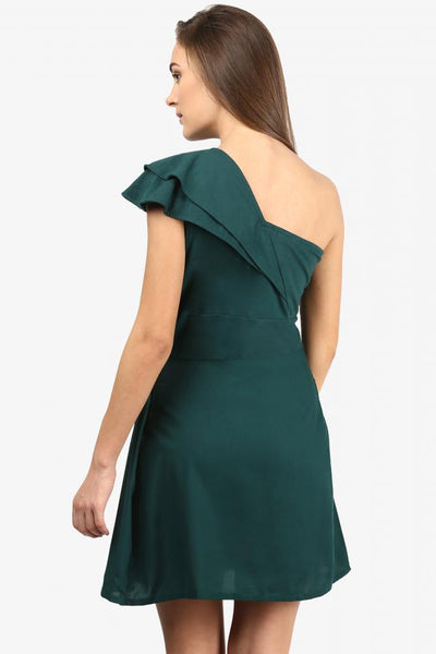 Breathless One Shoulder Dress