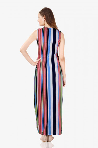 Slit With Us Maxi Dress