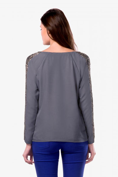 Don't Dull Your Sparkle Sequin Top