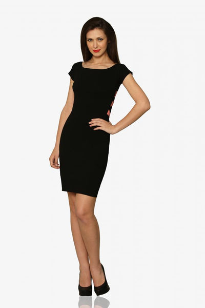 Break Your Heart Panelled Bodycon Dress