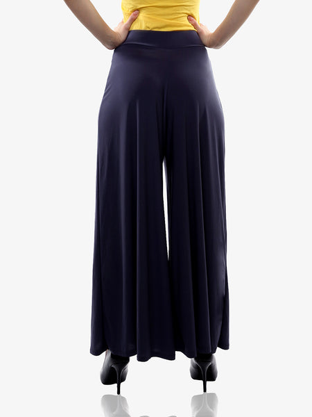 So Spacious Palazzo Pants Navy Blue