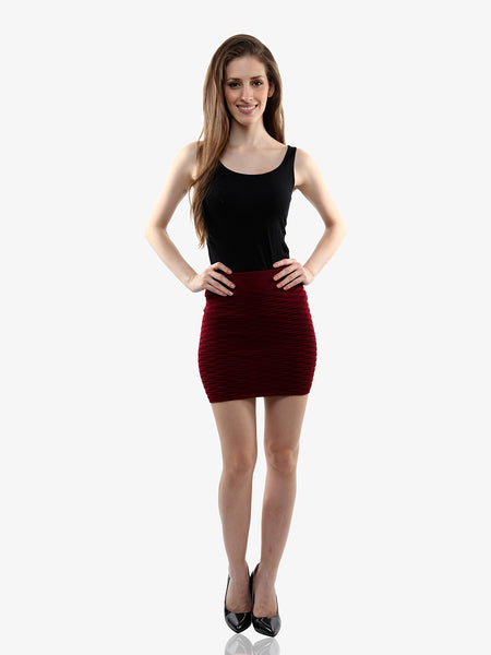 Cheers To Curves Bodycon Skirt