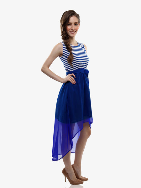 Out At Sea Skater Dress