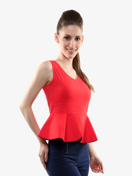 Dress The Part Peplum Top