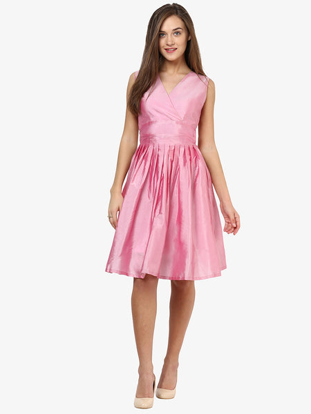 Life Of The Party Midi Skater Dress