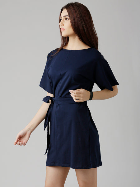Ladies First Belted Dress
