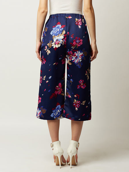 Up Front And Centre Floral Culottes