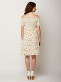 Drop In Floral Printed Dress