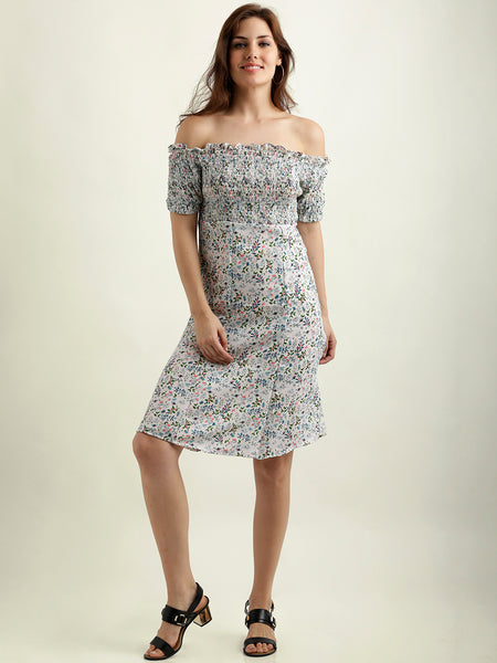 The Outcast Floral Printed Dress