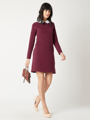 Way To Collared Shift Dress