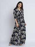Blast From The Past Floral Maxi Dress