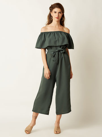 1d3db0f5679 Miss Chase Go Your Own Way Bardot Jumpsuit Clothing ...