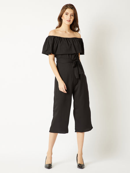 Go Your Own Way Bardot Jumpsuit