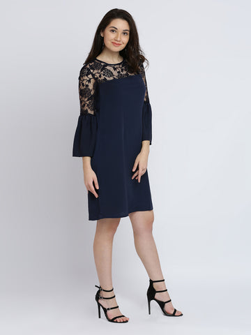 Better With You Lace Shift Dress