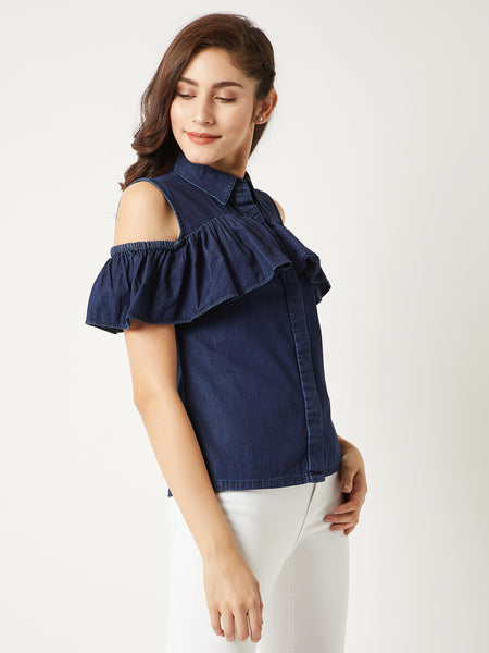 Lone Traveller Denim Top