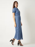 Denim Full Length Dress